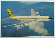 Airline Issue MSA MALAYSIAN-SINGAPORE Boeing 707- Aviation Airline Postcard