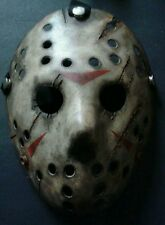 Friday The 13th Freddy Vs Jason Halloween Mask Battle Damaged V2 Voorhees Horror