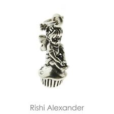 925 Sterling Silver Cupcake Fairy Charm American Made