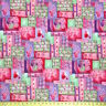 """Quilt Green Print Fabric Cotton Polyester Broadcloth By The Yard 60"""""""