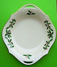 Vintage Lenox Holiday All Purpose Christmas Dish, Bowl - Made in Usa