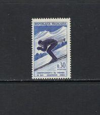 France 1962 DOWNHILL SKIING  MNH SC 1019