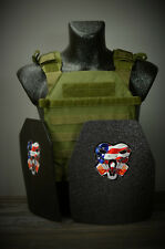 CATI AR500 Body Armor Level 3 Plates Active Shooter Sentry Adv.SC Olive Drab