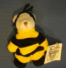 Wee Bear Village by Ganz Bumble Bear With Bumble Bee Costume With Tags