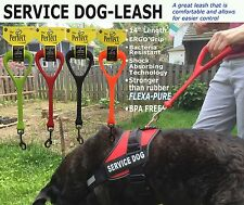 "SERVICE DOG LEASH - The ""Heeler"" - 14"" Leash -Superior control & Comfort"