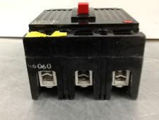 Thed136060 Ge Obsolete Breaker Recon 3 Pole 60 Amp Nice Black Face