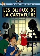 Affiche Offset Tintin Les Bijoux de la Castafiore