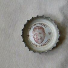 1960's Coca Cola NFL Bottle Caps  All Stars Charlie Krueger  49ers