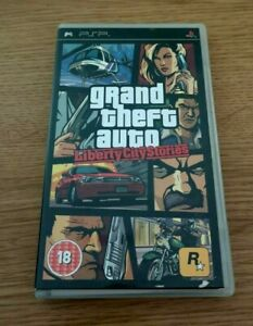 Grand Theft Auto: Liberty City Stories Sony Playstation Portable PSP Game