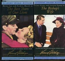 The Best Years of Our Lives & The Bishop's Wife Vhs Tapes Academy Award Winners