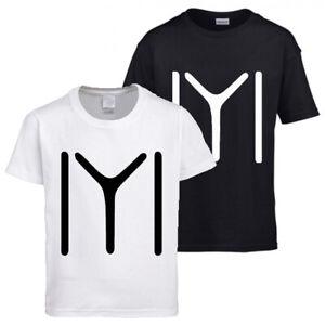 Kids new Ertugrul Kayi Tribe white Graphic print Cotton short sleeve t-shirt/Top