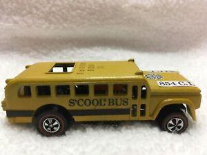 Hot wheels Redline S'Cool Bus 71 Guaranteed 100% MINT all original BP PULL Heavy