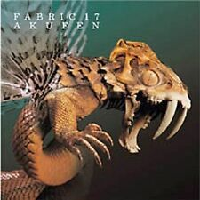 Fabric 17 by Akufen (CD, Jul-2004, Fabric (Label) w / cover