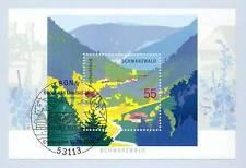 BRD 2006: Schwarzwald-Block Nr 68 mit sauberem Bonner Ersttagssonderstempel 1806