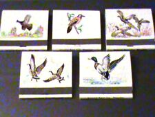 Hunting Bird Collectible Antique Match Front Strike BUY 2 (14 books) +get 7 free