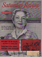 Saturday Review -July 30 1955 - Helen Hayes Cover