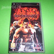TEKKEN 6 NUEVO Y PRECINTADO PAL ESPAÑA PLAYSTATION PSP