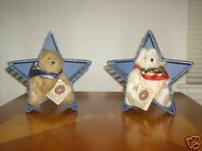 Boyds Plush Bears Donna & Karyn Scarvesdale w/Star Acc.