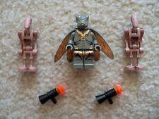 LEGO Star Wars Rare Winged Geonosian & 2 Geonosian Droids with backpacks