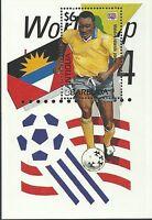 Antigua 1994 - Sports World Cup Soccer Championships USA 94 - Sc 1841/2 MNH
