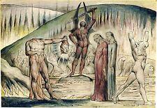 Owain Glyndwr Owen Glendower by William Blake Art Print 6x5 inches