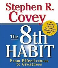 Book Mini, The 8th Habit by Stephen R. Covey Effective