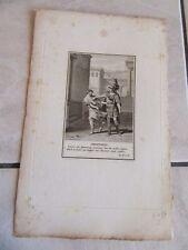 GRAVURE originale 1900 MOLIERE AMPHITRYON