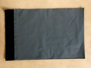 """50 A4 Large letter Grey Poly Postal bags 230x310mm (9x12"""") Parcel bags Mail Bags"""