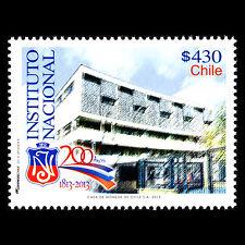 Chile 2013 - 200th Anniv of the National Institute Architecture - Sc 1599 MNH