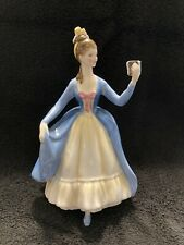 "Vintage 1964 Royal Doulton ""Leading Lady� Hn2269 Figurine 8� Tall"