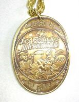 """1997 Krewe of Endymion Token of Youth """"Les Festivales Internationale"""" Pendant!"""