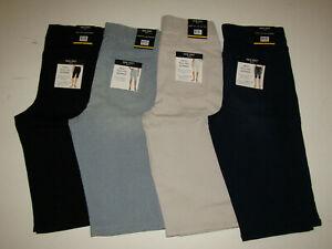NINE WEST Heidi Pull On Skimmer Shorts Tan Blue Stripe Black 4 6 8 10 12 14 16