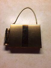 Vintage Goldstone Evening Case Lipstick Compact Cigarette Purse