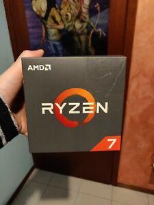 AMD RYZEN 7 2700X PROCESSORE AM4 CON DISSIPATORE WRAITH PRISM