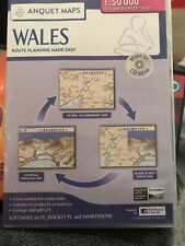 Anquet Maps Wales CD ROM