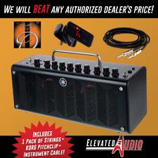 Yamaha THR10C Amp w/ FREE Korg PC-1 Tuner, 18ft. Guitar Cable & 1 Set of Strings