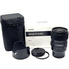 Sigma 35mm F/1.4 DG HSM Art Lens for Sony E (340965)