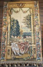 "Vtg Corona Home Decor Tapestry Wall Art With Tassel HUGE 37""×58"" Excellent..."