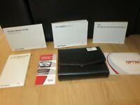 2015 KIA OPTIMA OWNERS MANUAL BOOK SET + CASE. + NAVIGATION