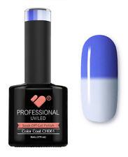CH061 VB Line Colour Changing Blue White - gel nail polish - super gel polish