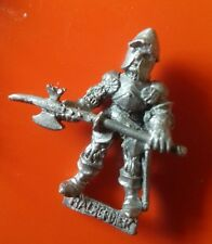 F2 Big Fighter Citadel GW combattants Sir Philip d'incurie halbard L halbardier