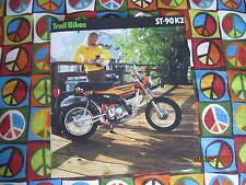 Honda ST90 1974 Sales Brochure