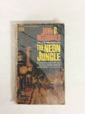 The Neon Jungle by John D MacDonald 1953 (PB) GOLD METAL R1979