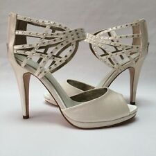 Bridal or Wedding Synthetic Solid Shoes for Women