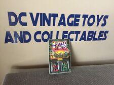 Vintage Hasbro 1987 Battle Beasts Series 2 Powerhouse Mouse & Dragoon Raccoon