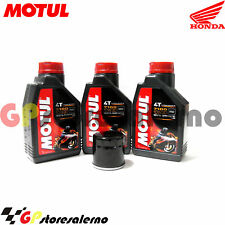 TAGLIANDO OLIO + FILTRO MOTUL 7100 10W30 HONDA 650 NT HAWK GT 1990