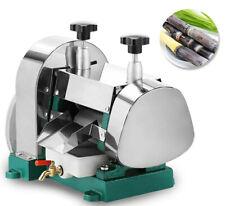 Manual Sugar Cane Press Juicer Juice Machine Commercial Extractor Mill Handwheel