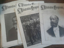 lot de 13  l'Illustration Européenne journal international de la famille 1887-88