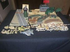 Micro Machines Military Battle Zone Bunker & airbase 7200 jungle strike complete