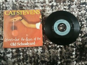 CAT STEVENS SINGLE REMEMBER THE DAYS 1977